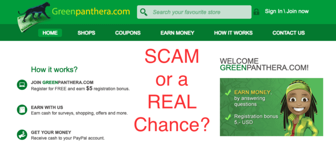 Green Panthera Review Website