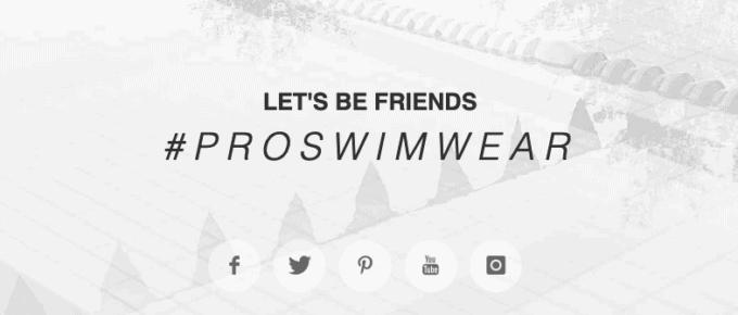 Proswimwear coupon